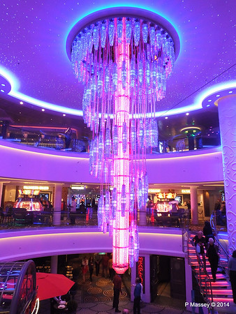 678 Ocean Place Cascading LED Chandelier NORWEGIAN GETAWAY PDM 14-01-2014 22-51-06