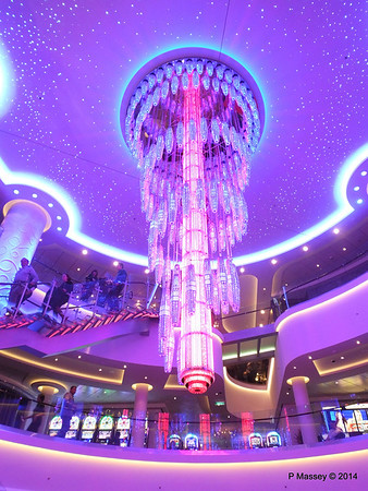 678 Ocean Place Cascading LED Chandelier NORWEGIAN GETAWAY PDM 14-01-2014 23-27-24