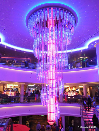678 Ocean Place Cascading LED Chandelier NORWEGIAN GETAWAY PDM 14-01-2014 22-50-59