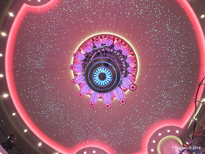 678 Ocean Place Cascading LED Chandelier NORWEGIAN GETAWAY PDM 13-01-2014 16-09-03