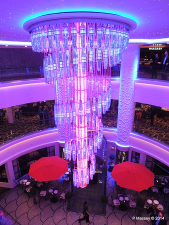 678 Ocean Place Cascading LED Chandelier NORWEGIAN GETAWAY PDM 14-01-2014 22-52-53