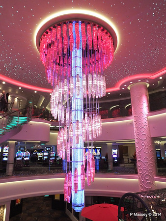 678 Ocean Place Cascading LED Chandelier NORWEGIAN GETAWAY PDM 13-01-2014 16-10-49