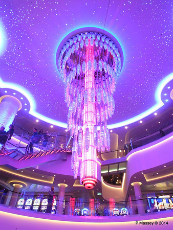 678 Ocean Place Cascading LED Chandelier NORWEGIAN GETAWAY PDM 14-01-2014 23-27-27
