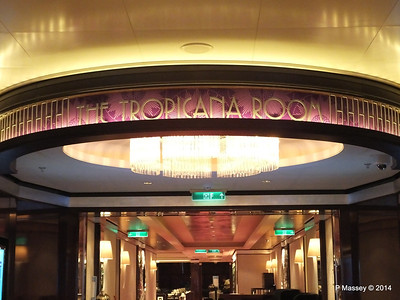 Entrance to the Tropicana Room NORWEGIAN GETAWAY PDM 15-01-2014 07-30-18