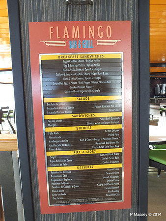 Flamingo Bar & Grill NORWEGIAN GETAWAY PDM 14-01-2014 15-03-06
