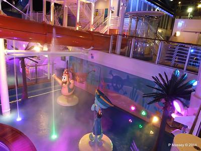 Kid's Aqua Park at Night NORWEGIAN GETAWAY PDM 13-01-2014 18-26-42