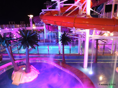 Kid's Aqua Park at Night NORWEGIAN GETAWAY PDM 13-01-2014 18-26-31