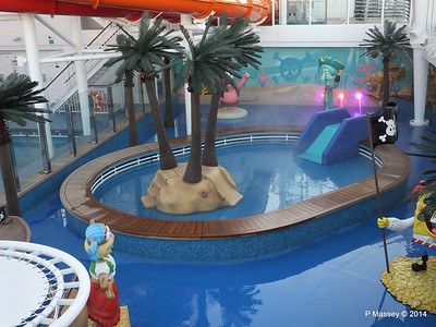 Kid's Aqua Park Deck 15 NORWEGIAN GETAWAY Jan 2014