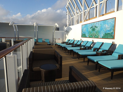 The Haven Sun Deck surrounding Courtyard NORWEGIAN GETAWAY PDM 13-01-2014 14-35-55