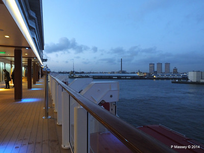 Rotterdam from NORWEGIAN GETAWAY as we depart PDM 13-01-2014 16-17-13