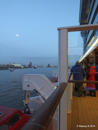 Rotterdam from NORWEGIAN GETAWAY as we depart PDM 13-01-2014 16-17-34