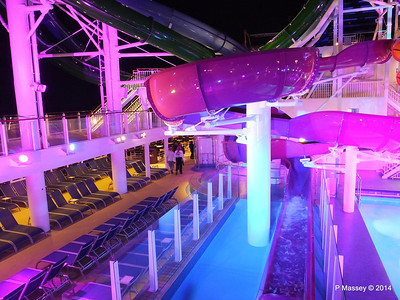 Whip & Freefall Waterslides NORWEGIAN GETAWAY PDM 13-01-2014 18-29-56