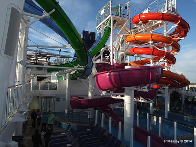 Market Place to Whip & Freefall Waterslides NORWEGIAN GETAWAY PDM 14-01-2014 14-59-22