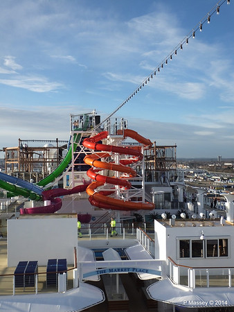 Market Place to Whip & Freefall Waterslides NORWEGIAN GETAWAY PDM 14-01-2014 14-54-41