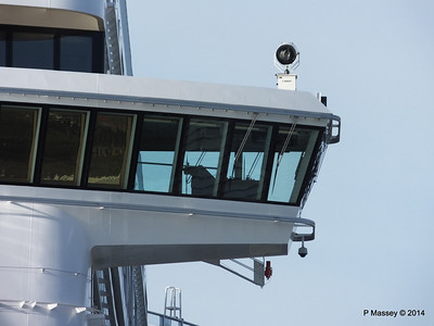 NORWEGIAN GETAWAY Bridge Wing Southampton PDM 14-01-2014 11-58-12