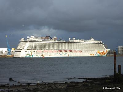 NORWEGIAN GETAWAY Southampton PDM 16-01-2014 15-29-44