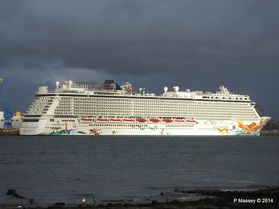 NORWEGIAN GETAWAY Southampton PDM 16-01-2014 15-30-25