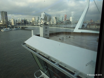 Madara Spa view of Bridge Wing port Rotterdam NORWEGIAN GETAWAY PDM 13-01-2014 14-17-58