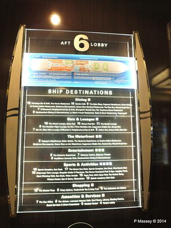 Deck 6 Map Information NORWEGIAN GETAWAY PDM 14-01-2014 23-25-17