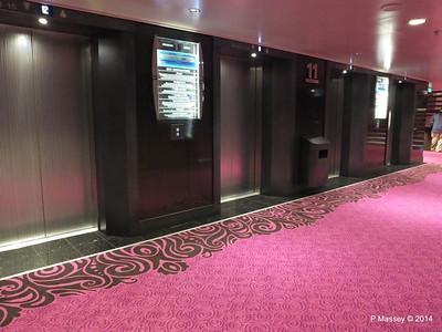 Deck 11 fwd Lift Lobby NORWEGIAN GETAWAY PDM 14-01-2014 21-46-33