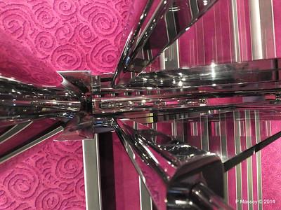 Looking Down Deck 11 fwd Stairwell NORWEGIAN GETAWAY PDM 14-01-2014 21-50-16