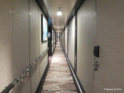 The Haven Deck 15 port Hallway NORWEGIAN GETAWAY PDM 13-01-2014 14-07-23