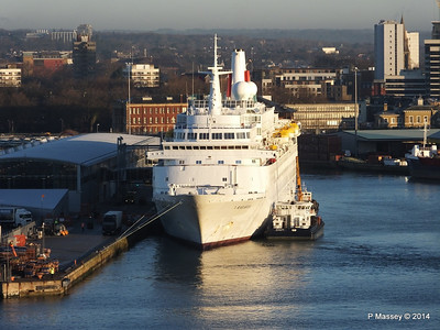 BLACK WATCH at Ocean Terminal Southampton PDM 14-01-2014 08-43-23
