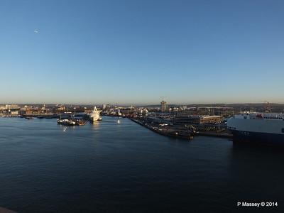 BLACK WATCH at Ocean Terminal Southampton PDM 14-01-2014 08-43-30