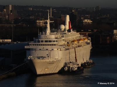BLACK WATCH at Ocean Terminal Southampton PDM 14-01-2014 08-42-47