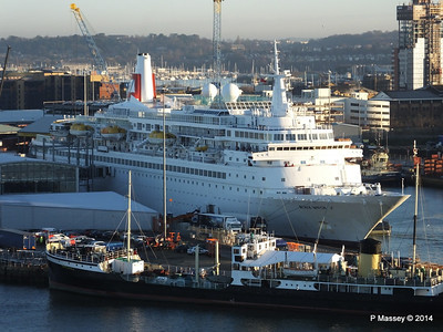 BLACK WATCH at Ocean Terminal ss SHIELDHALL PDM 14-01-2014 08-45-22