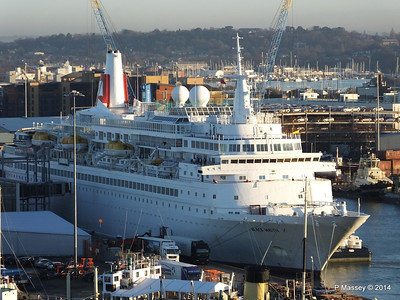 BLACK WATCH at Ocean Terminal Southampton PDM 14-01-2014 08-45-05