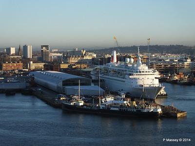 BLACK WATCH at Ocean Terminal ss SHIELDHALL PDM 14-01-2014 08-44-57