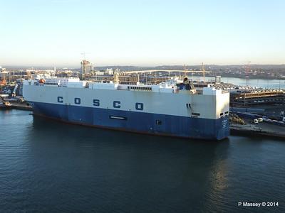 COSCO TENGFEI Southampton PDM 14-01-2014 08-42-24