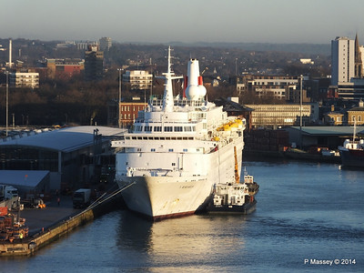 BLACK WATCH at Ocean Terminal Southampton PDM 14-01-2014 08-43-16