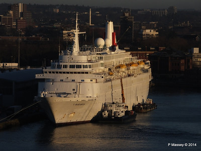 BLACK WATCH at Ocean Terminal Southampton PDM 14-01-2014 08-42-44