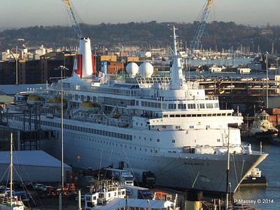 BLACK WATCH at Ocean Terminal Southampton PDM 14-01-2014 08-45-07
