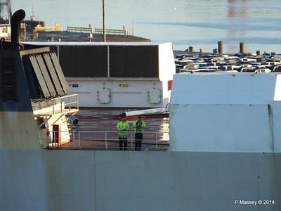 COSCO TENGFEI Crew Southampton PDM 14-01-2014 08-42-33