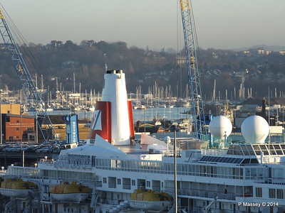 BLACK WATCH at Ocean Terminal Southampton PDM 14-01-2014 08-45-28