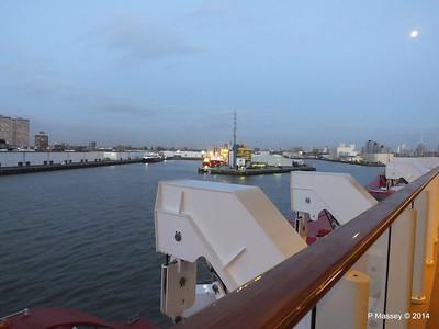 Rotterdam from NORWEGIAN GETAWAY as we depart PDM 13-01-2014 16-21-10