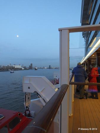 Rotterdam from NORWEGIAN GETAWAY as we depart PDM 13-01-2014 16-17-34