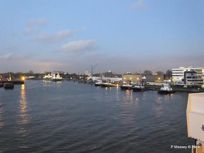 Rotterdam from NORWEGIAN GETAWAY as we depart PDM 13-01-2014 16-32-29