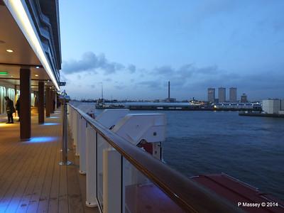 Rotterdam from NORWEGIAN GETAWAY as we depart PDM 13-01-2014 16-17-13