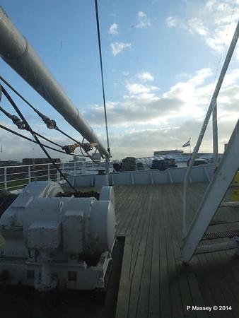 ss ROTTERDAM Bow from Atlantic Promenade PDM 13-01-2014 09-29-21