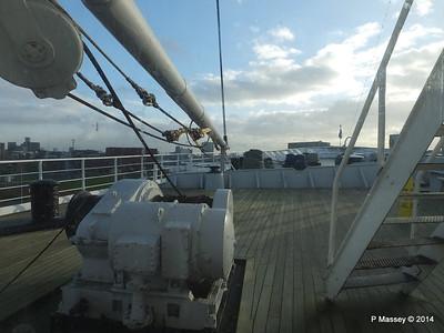 ss ROTTERDAM Bow from Atlantic Promenade PDM 13-01-2014 09-29-18