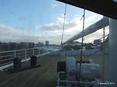 ss ROTTERDAM Bow from Atlantic Promenade PDM 13-01-2014 09-29-34