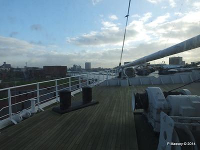 ss ROTTERDAM Bow from Atlantic Promenade PDM 13-01-2014 09-29-40