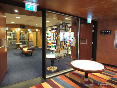 ss ROTTERDAM Stuffed Insects Smoking Room Entrance PDM 13-01-2014 08-06-25
