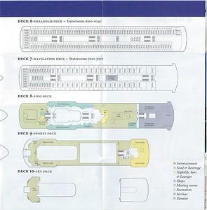 ss ROTTERDAM Deck Plans Rotterdam-001