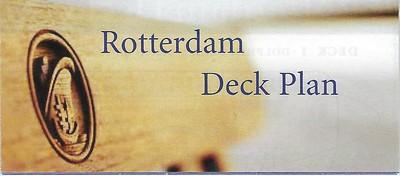 ss ROTTERDAM Deck Plans Rotterdam-004