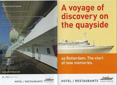 ss ROTTERDAM Booklet Rotterdam
